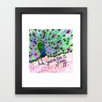 You've Got It, Flaunt It Framed Art Print