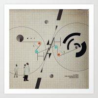 Reverse Engineering Dept… Art Print