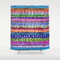 Peru Stripe II Shower Curtain