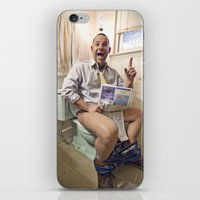 Formation Of A Great Ide… iPhone & iPod Skin
