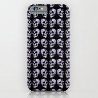 Blue Print Skull iPhone 6 Slim Case