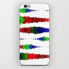 Screen Squares iPhone & iPod Skin