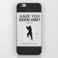 Have You Seen Him? iPhone & iPod Skin