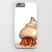 iPhone & iPod Case featuring Hermit's Hermit by mendydraws