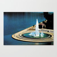 The Fountain at The Point Canvas Print