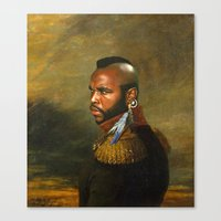 Mr. T - replaceface Canvas Print