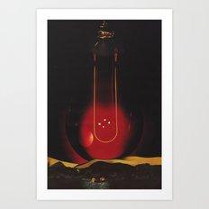 impact - (swing) Art Print