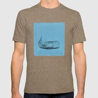 Whale Mens Fitted Tee Tri-Coffee SMALL