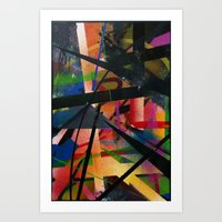 Abstract Graffiti Art Print