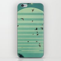 Fractions 02 iPhone & iPod Skin