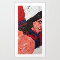 Roberta Art Print