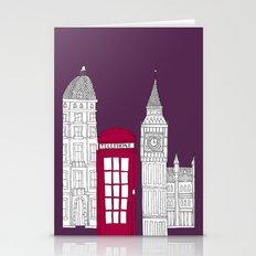 Night Sky // London Red … Stationery Cards
