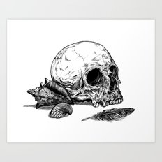 Life Once Lived Art Print