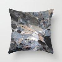 I Am A Rock :: Alaskan B… Throw Pillow