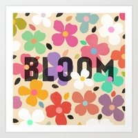 Bloom - Galaxy Eyes & Ga… Art Print