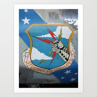 Strategic Air Command - SAC Art Print