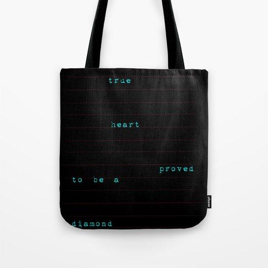 a true heart Tote Bag