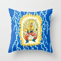 Super Springfieldian Throw Pillow