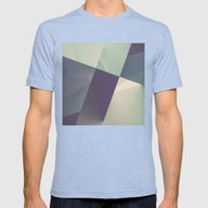 RAD XVII (color Version) Mens Fitted Tee Tri-Blue SMALL