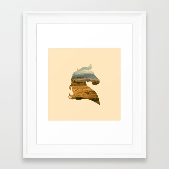 Home on the Range Framed Art Print