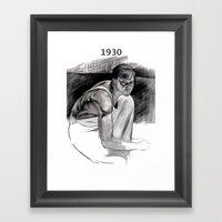 Jasper Johns Framed Art Print