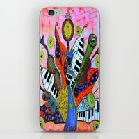 FEATHERED FANFARE iPhone & iPod Skin