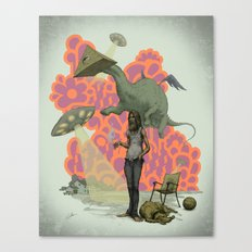Can I Get a Paradigm Shift Already? Canvas Print