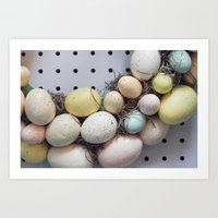 Easter Treats Art Print