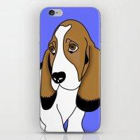 dog iPhone & iPod Skin