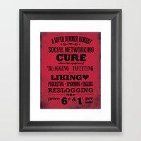 The Social Remedy Framed Art Print
