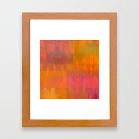 The Gift Of Color Framed Art Print