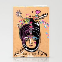 LIVE FOR LOVE Stationery Cards