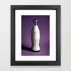 Drink Milk Framed Art Print
