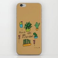 Plant Love. iPhone & iPod Skin