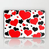 Hearts And Hearts Laptop & iPad Skin
