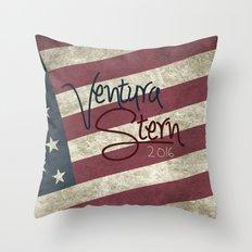 Ventura/Stern 2016 Throw Pillow