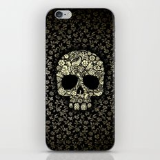 Sugar Skull flower pattern iPhone 4 4s 5 5s 5c, ipod, ipad, pillow case and tshirt iPhone & iPod Skin