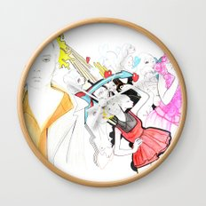 Whe love Fashion Wall Clock