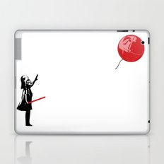 That's No Banksy Balloon (It's a Space Station) Laptop & iPad Skin