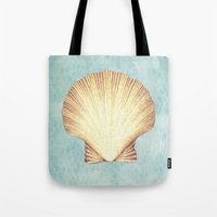 concha de mar Tote Bag