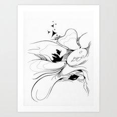 Flower000 Art Print