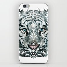 The White Tiger (Classic Version) iPhone & iPod Skin