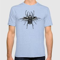 Scarab One Mens Fitted Tee Tri-Blue SMALL