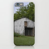 iPhone & iPod Case featuring old barn by Cindy Munroe Photography