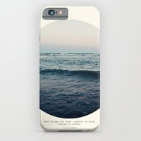 iPhone Cases featuring In Storm by Tina Crespo