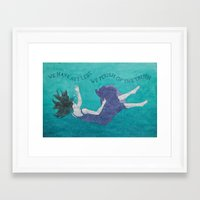 We Have Art Framed Art Print