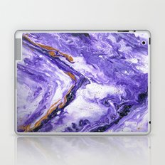 Chevron Amethyst 1 Laptop & iPad Skin