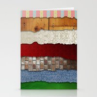 Texture Bundle Stationery Cards