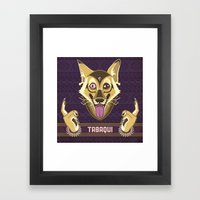 Tabaqui Framed Art Print
