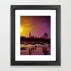 Day - From Day And Night Painting Framed Art Print